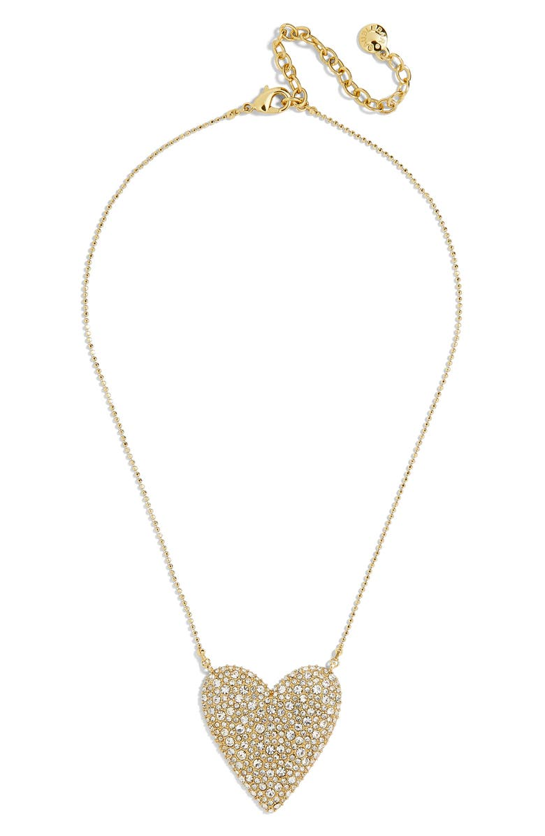 Cintia Pavé Heart Pendant Necklace