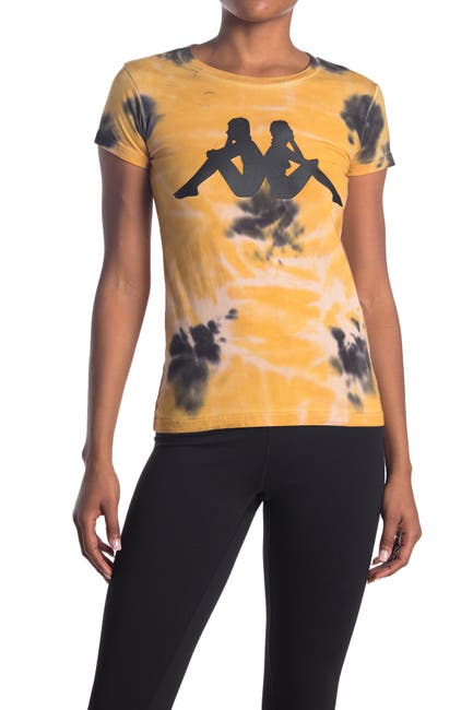 Image of Kappa Active Authentic Glaive Tie Dye Shirt