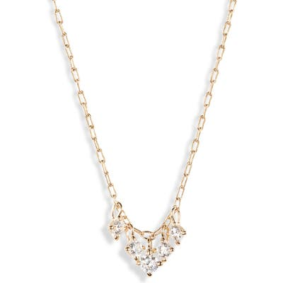 Nadri Issa Small Shaky Frontal Necklace