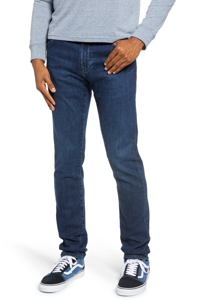 AG Dylan Extra Slim Fit Jeans, Main, color, CRUSADE