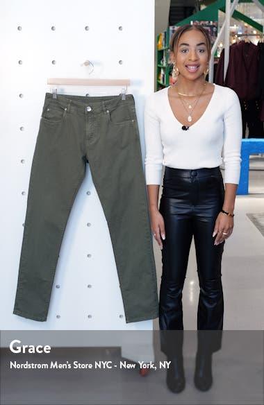 Slim Fit Stretch Cotton Five Pocket Pants, sales video thumbnail
