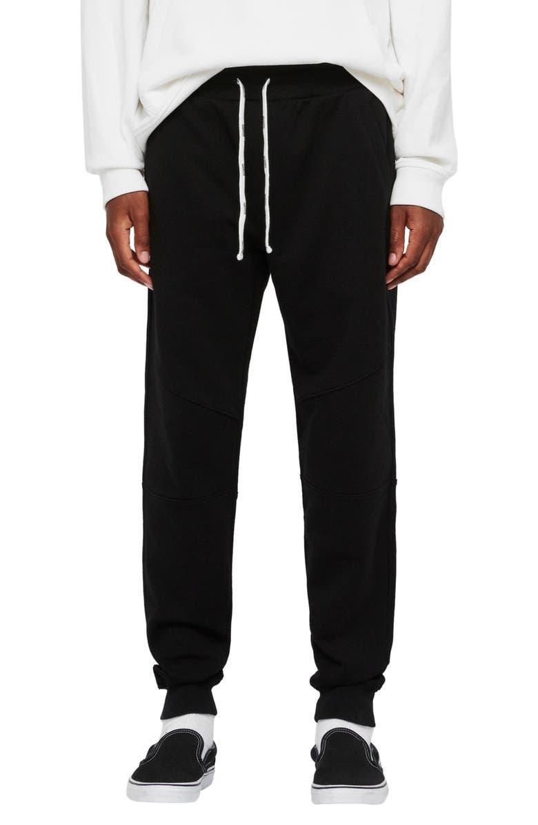ALLSAINTS Joshua Sweatpants, Main, color, JET BLACK