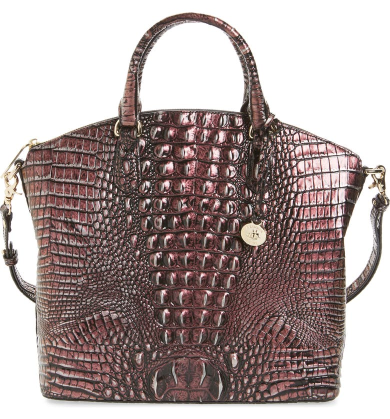 BRAHMIN 'Melbourne - Large Duxbury' Satchel, Main, color, 500