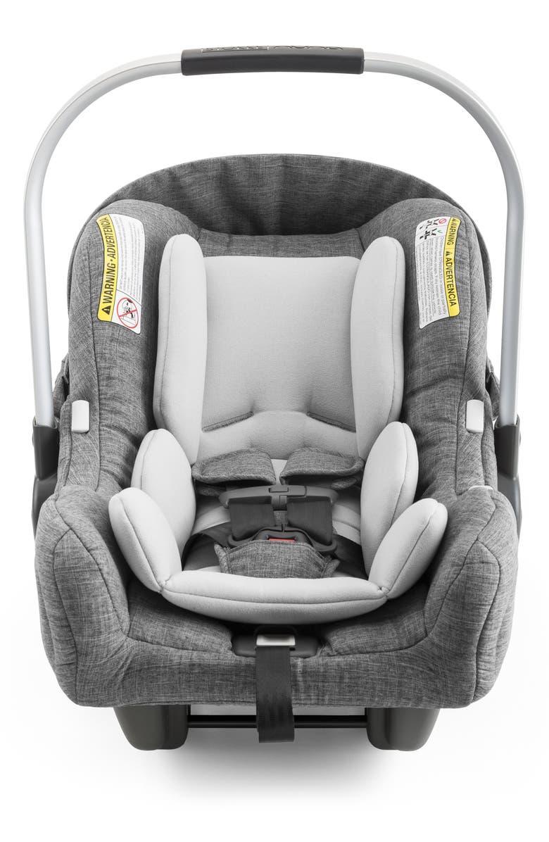 STOKKE PIPA<sup>™</sup> by nuna Car Seat & Base, Main, color, BLACK MELANGE