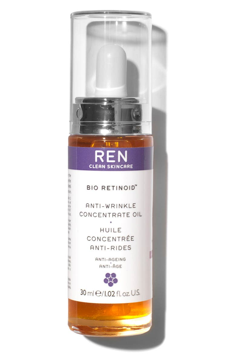 REN SPACE.NK.apothecary REN Bio Retinoid Anti-Wrinkle Concentrate Oil, Main, color, NO COLOR