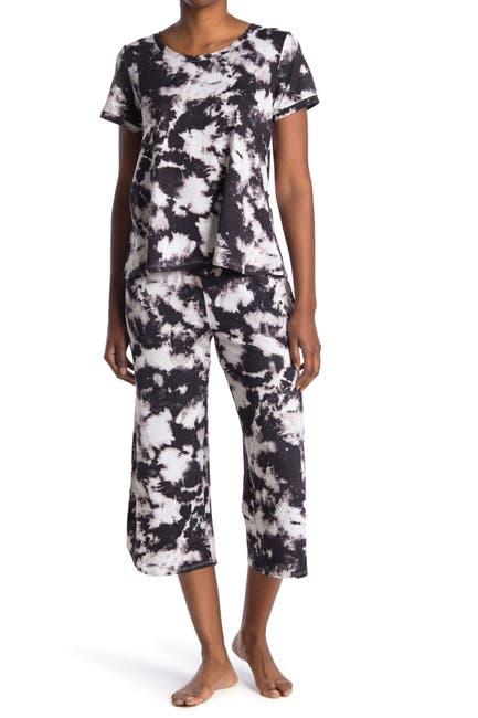 Image of Kensie Top & Capri 2-Piece Pajama Set
