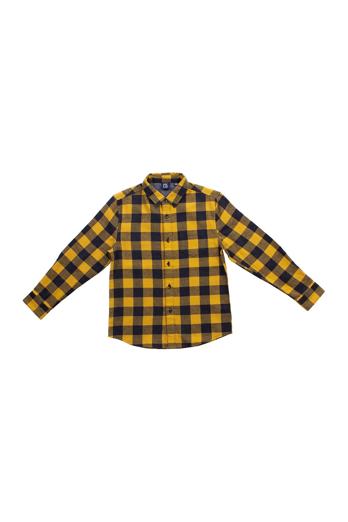 Image of BEAR CAMP Long Sleeve Flannel Button Down