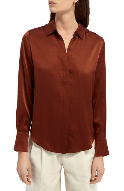 Scotch & Soda CLASSIC SILK SHIRT