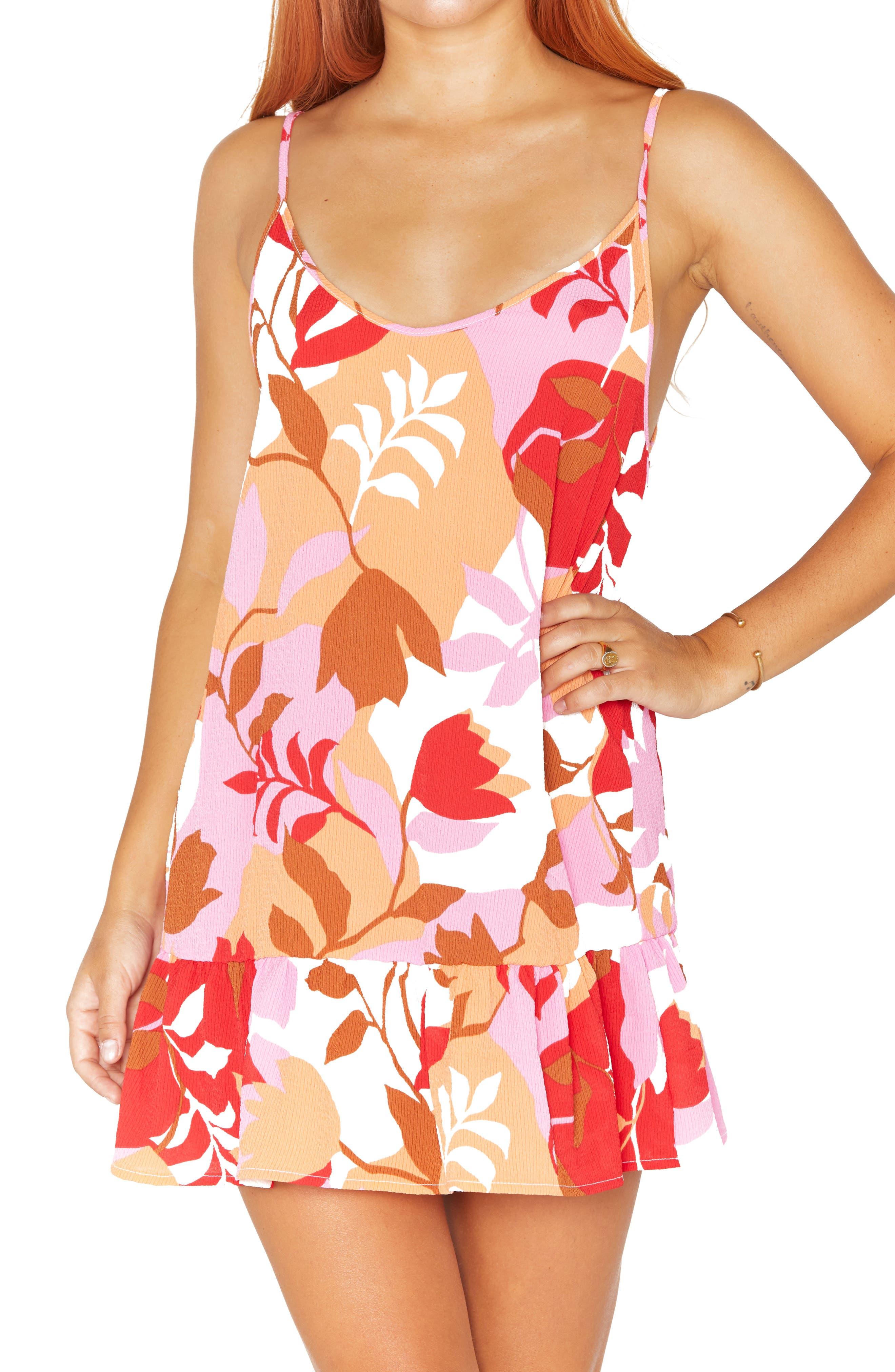 Solstice Floral Cover-Up Dress