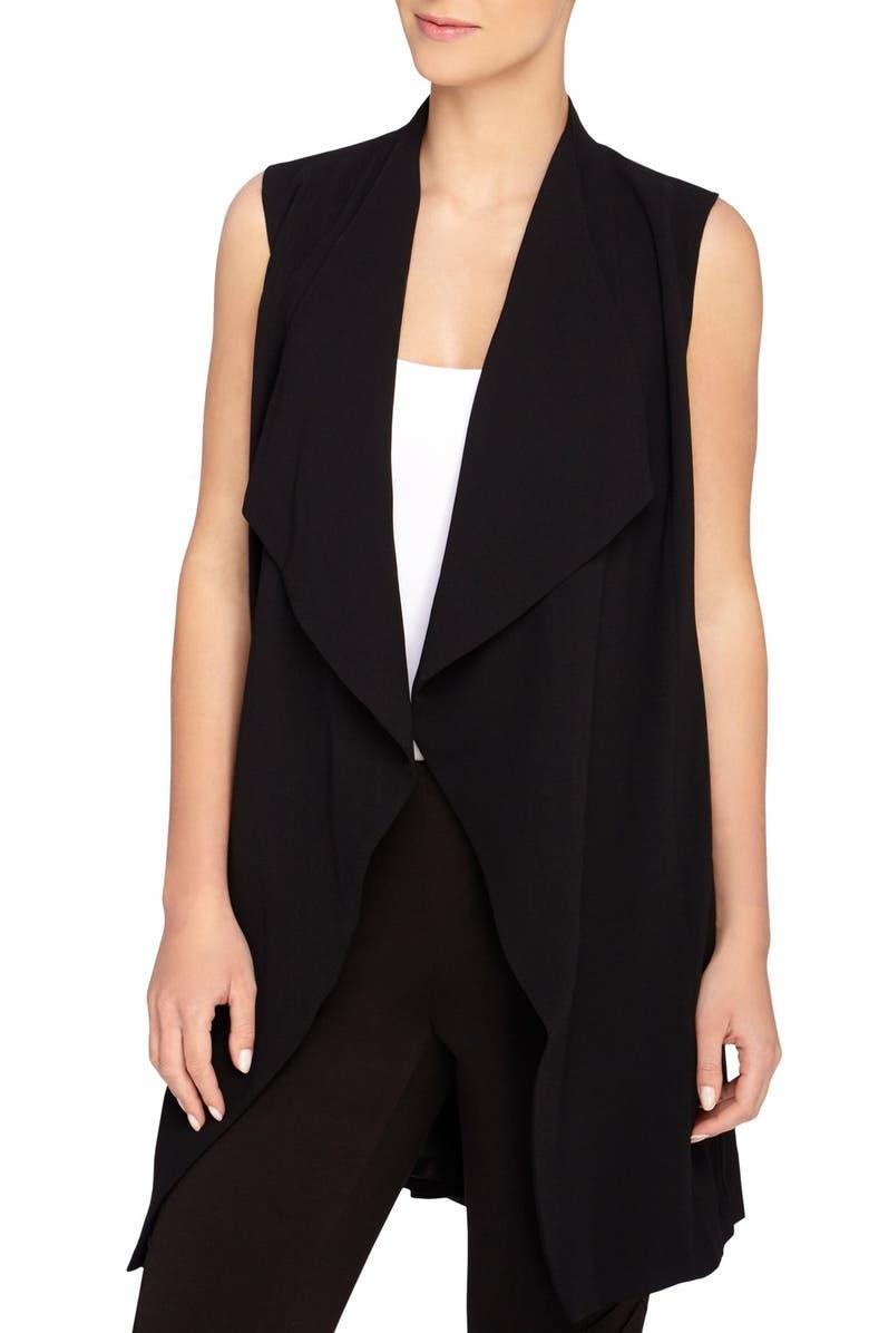 CATHERINE CATHERINE MALANDRINO 'Quindon' Longline Vest, Main, color, 001