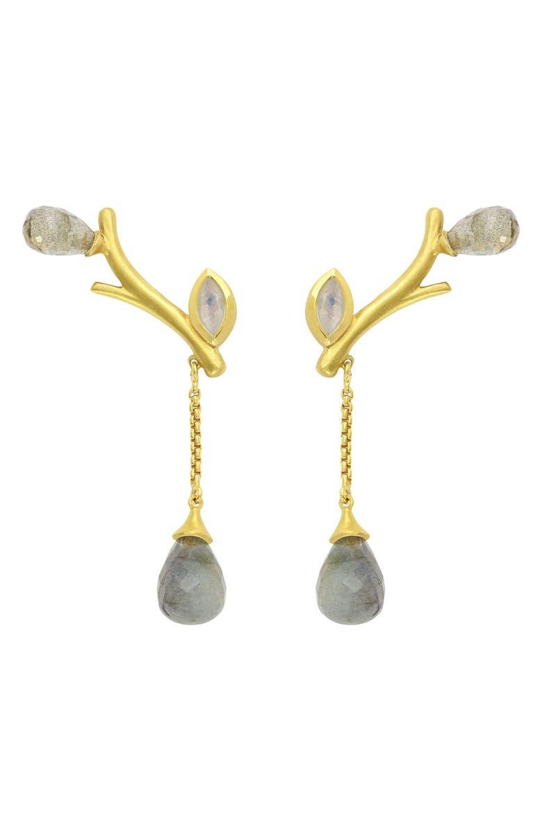 DEAN DAVIDSON Sakura Stone Drop Earrings, Main, color, 710