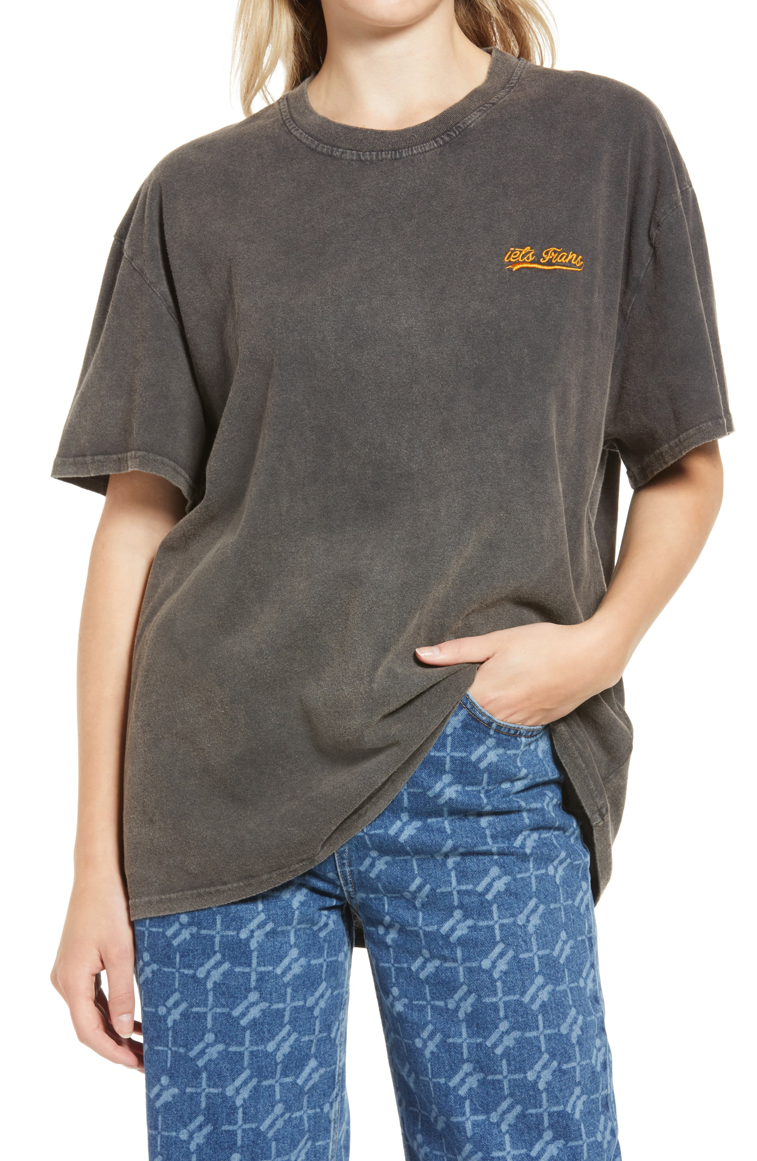 Women's Cotton Boyfriend T-Shirt