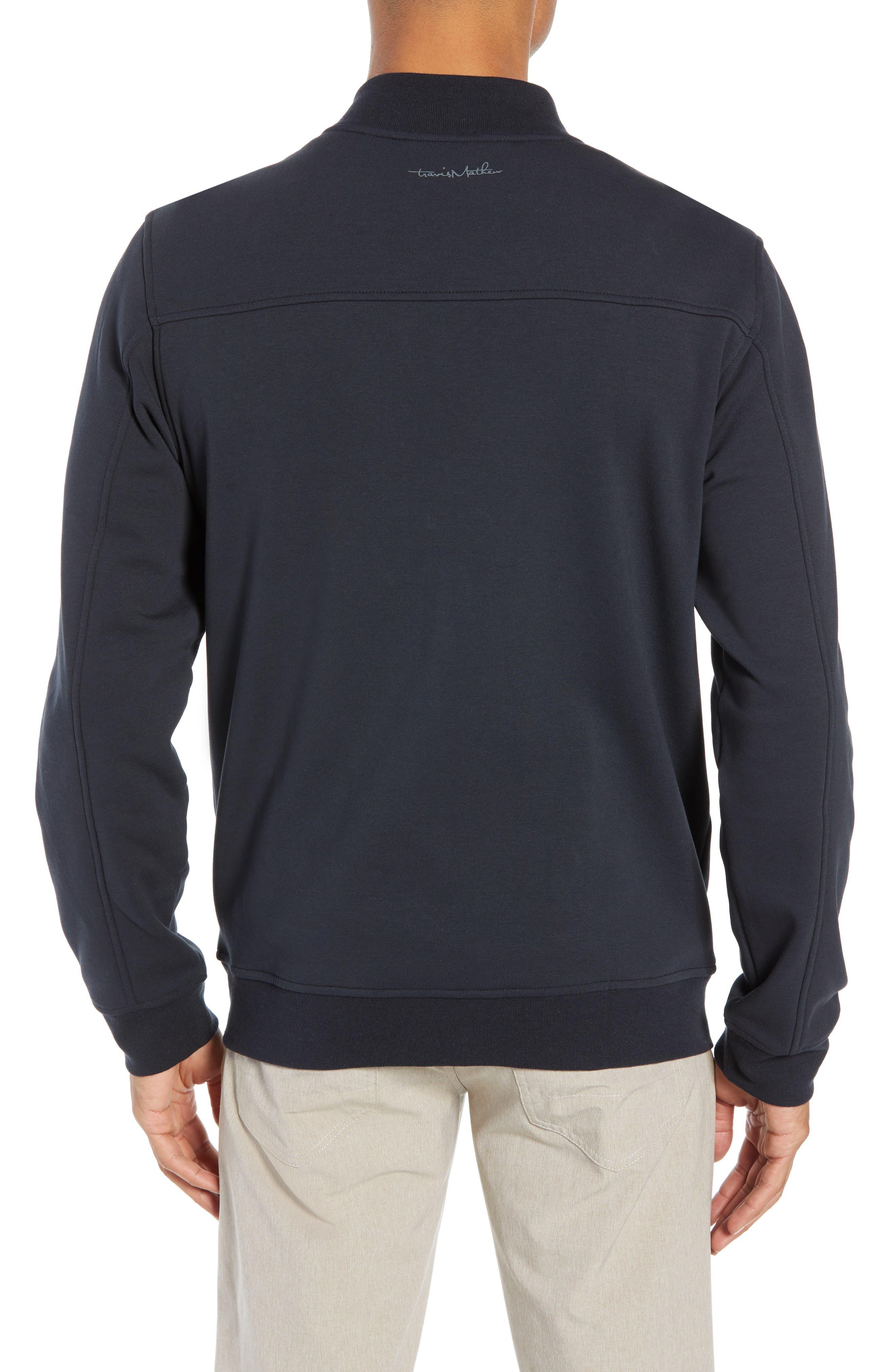 ,                             Cavalry Knit Bomber Jacket,                             Alternate thumbnail 2, color,                             BLACK