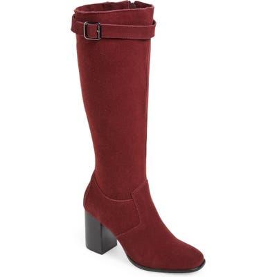 Sbicca Cornish Knee High Boot, Burgundy