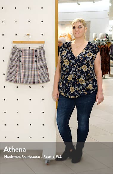 Starck Plaid Tweed Miniskirt, sales video thumbnail