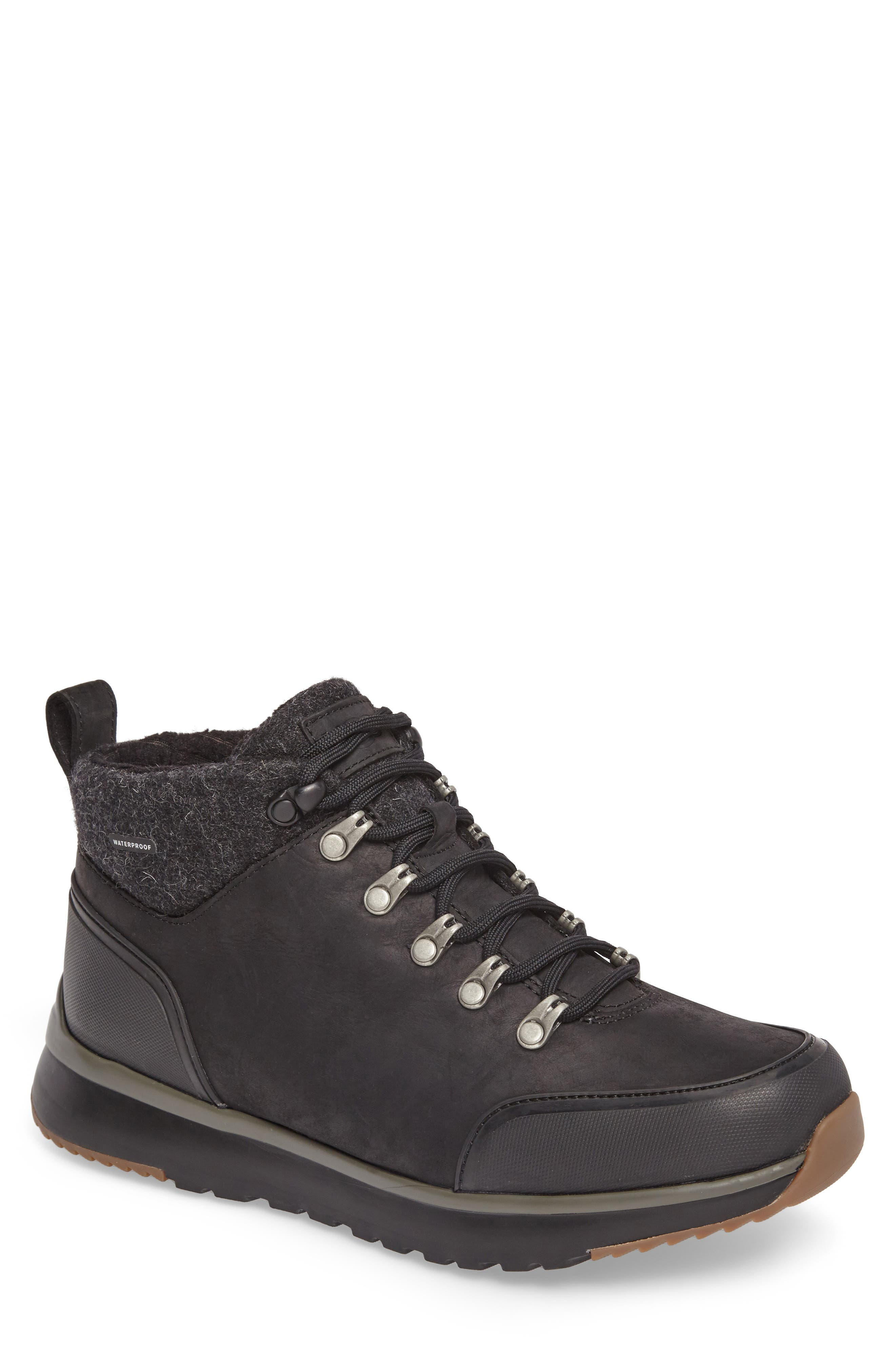 Olivert Hiking Waterproof Boot, Main, color, BLACK