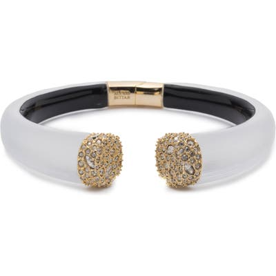 Alexis Bittar Essentials Encrusted Pave Hinged Bracelet