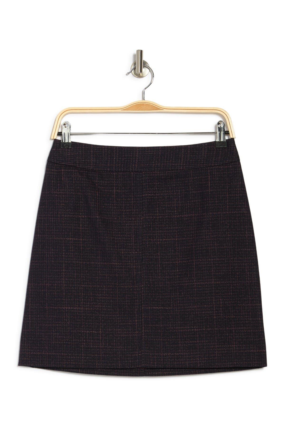 Image of See By Chloe Plaid Mini Skirt