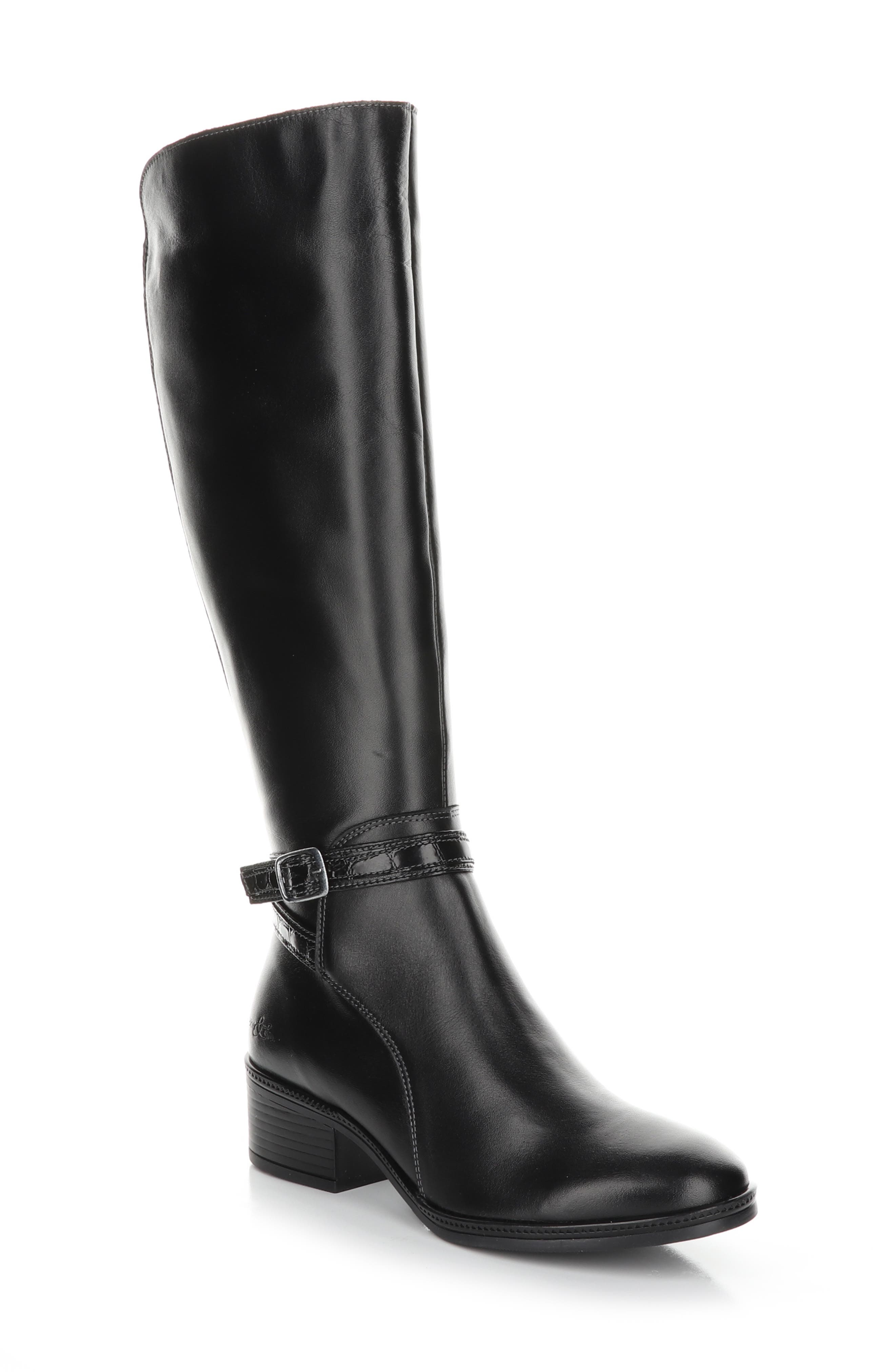 An Aquastop breathable, water-repellent membrane and moisture-wicking lining make this chic tall boot extra comfortable, whatever the forecast. Style Name: Bos. & Co. Jade Waterproof Knee High Boot (Women). Style Number: 6086156. Available in stores.