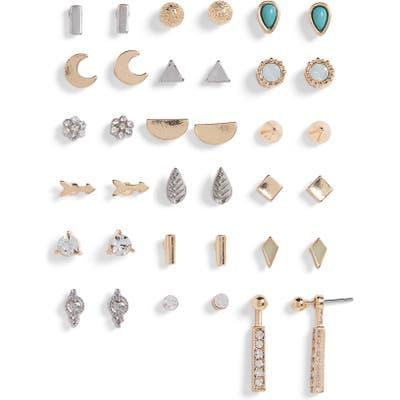 Bp. 18-Pack Stud Earrings