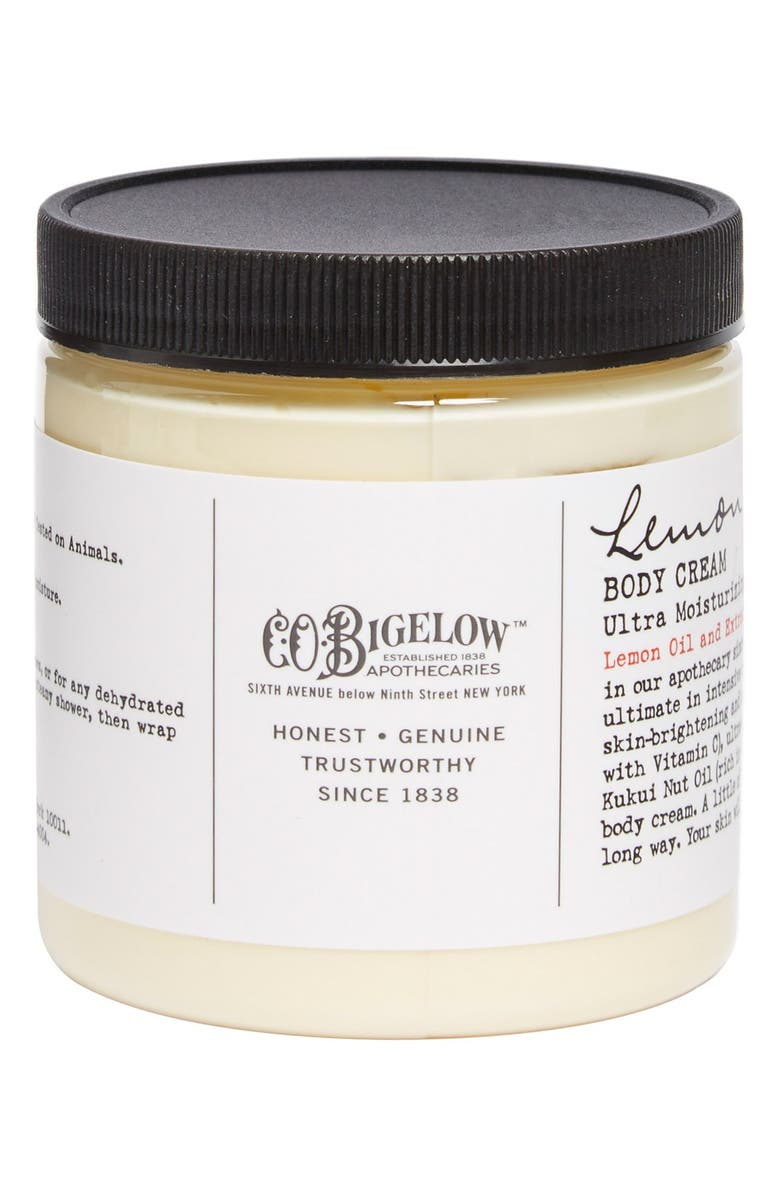 C.O. BIGELOW <sup>®</sup> Lemon Body Cream, Main, color, 000
