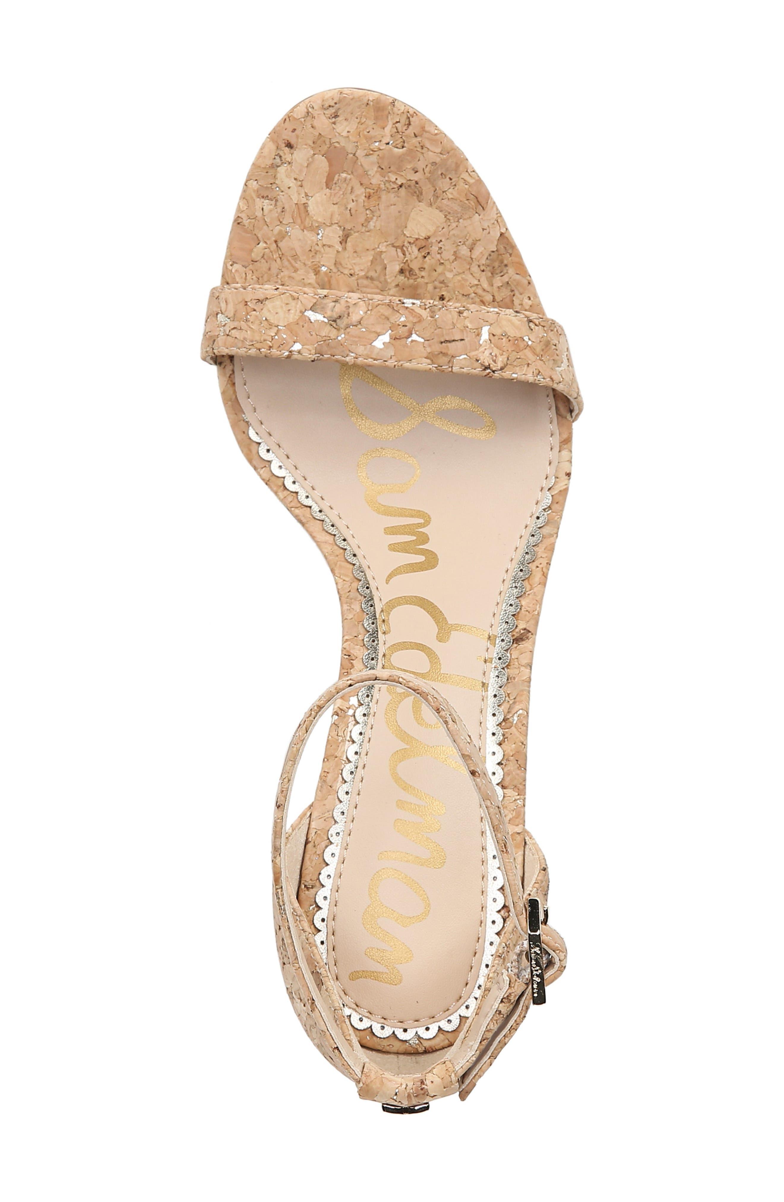 ,                             'Patti' Ankle Strap Sandal,                             Alternate thumbnail 83, color,                             251