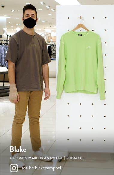 Sportswear Oversize Crewneck Sweatshirt, sales video thumbnail