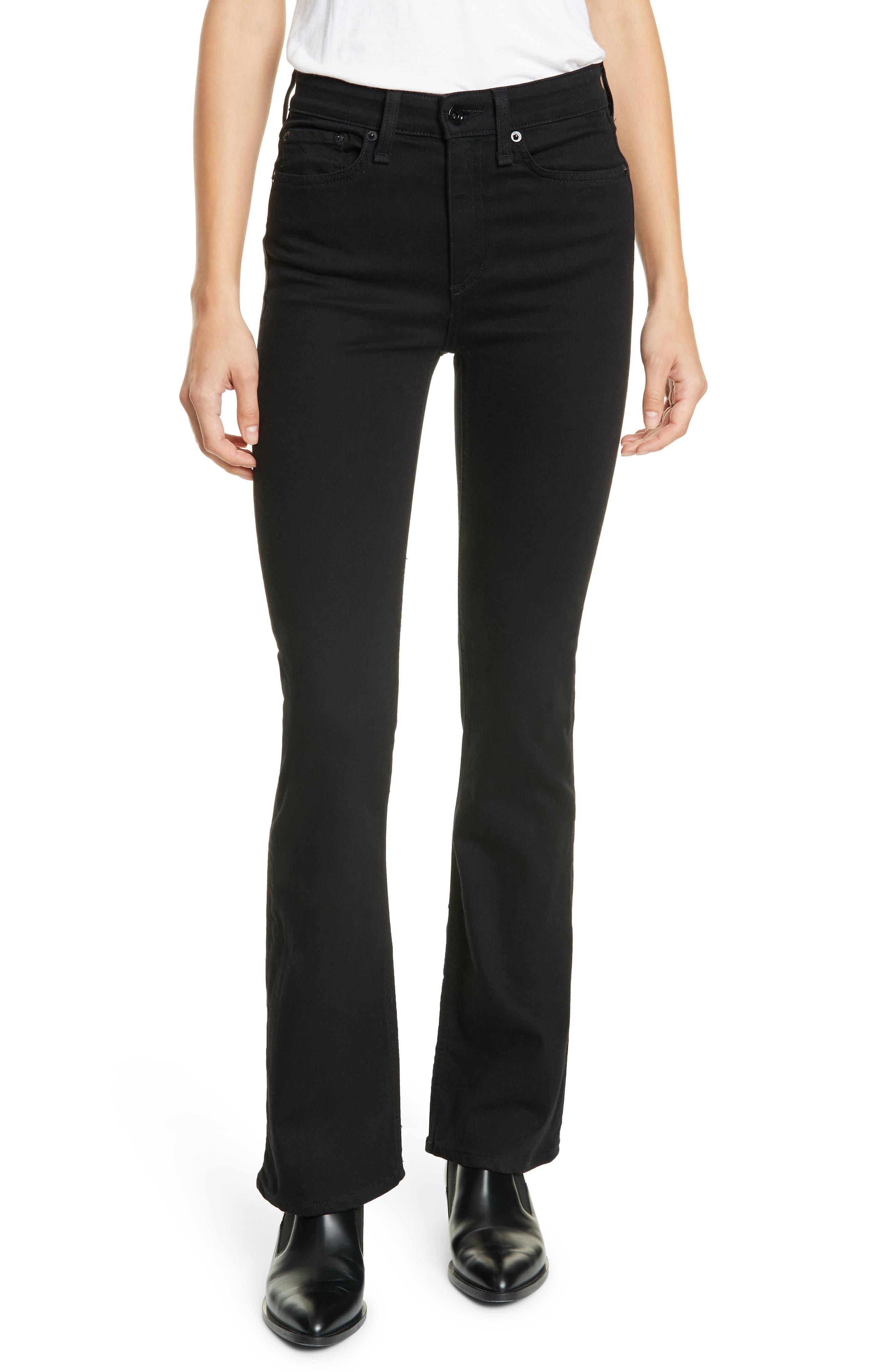 Women's Rag & Bone Nina High Rise Bootcut Jeans