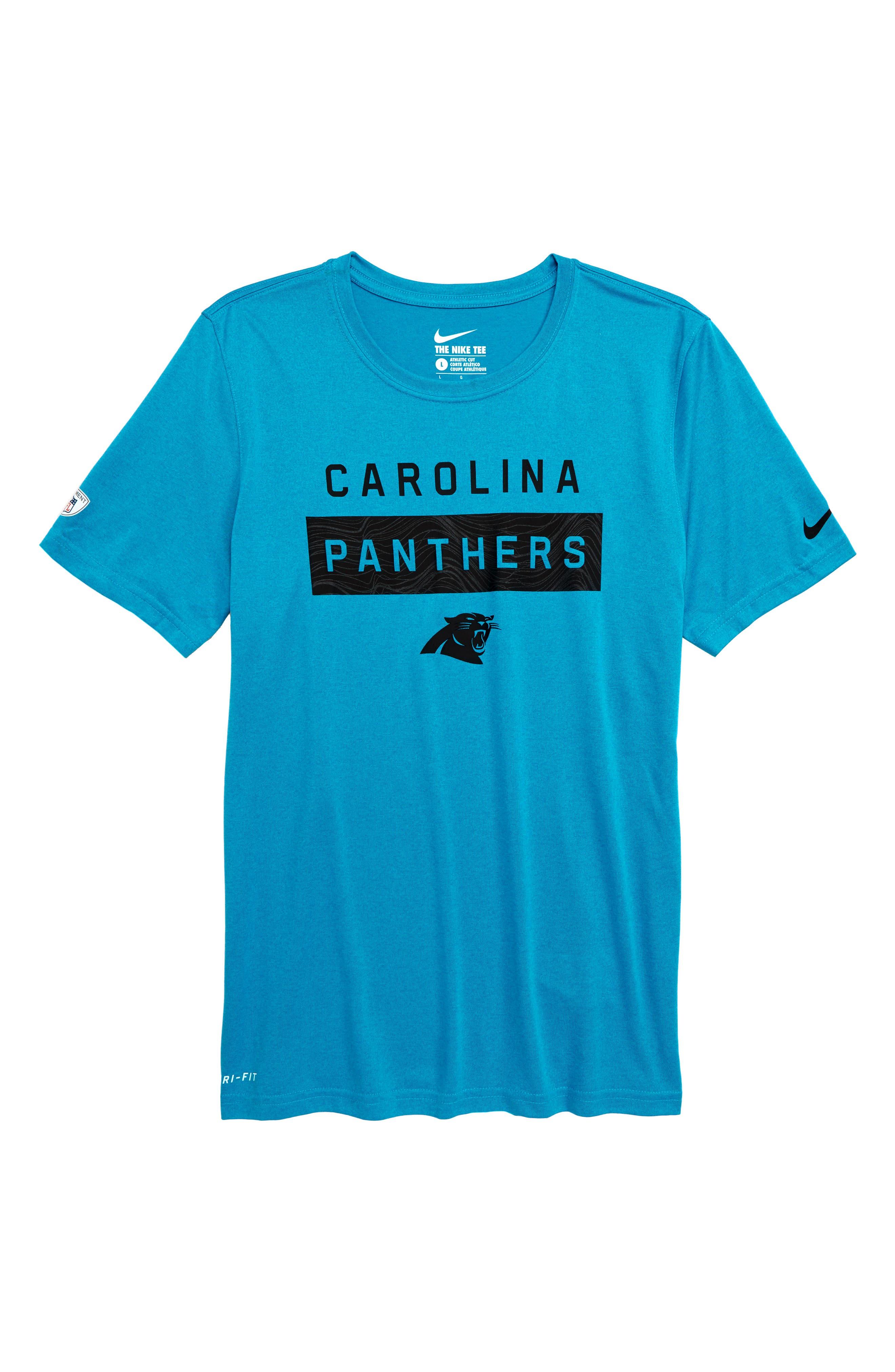 boys carolina panthers shirt