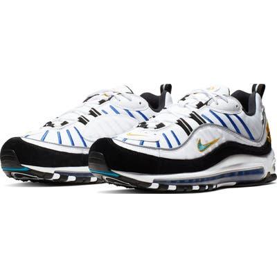 Nike Air Max 98 Premium Sneaker, White