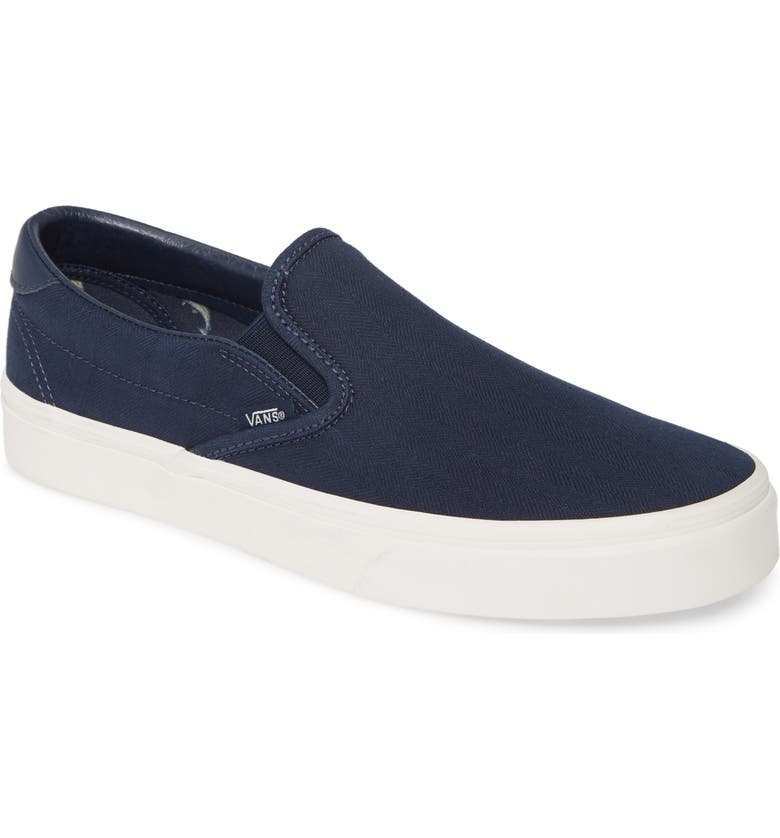 VANS 59 Classic Slip-On Sneaker, Main, color, DRESS BLUES/ BLANC DE BLANC