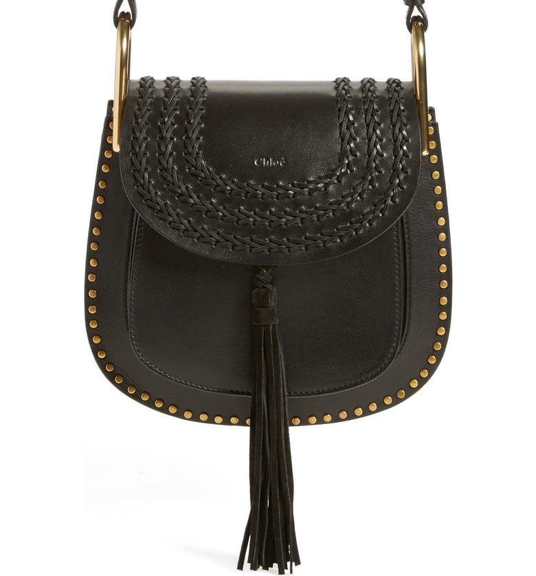 c857358a79815 'Small Hudson' Studded Calfskin Leather Crossbody Bag, Main, color, ...