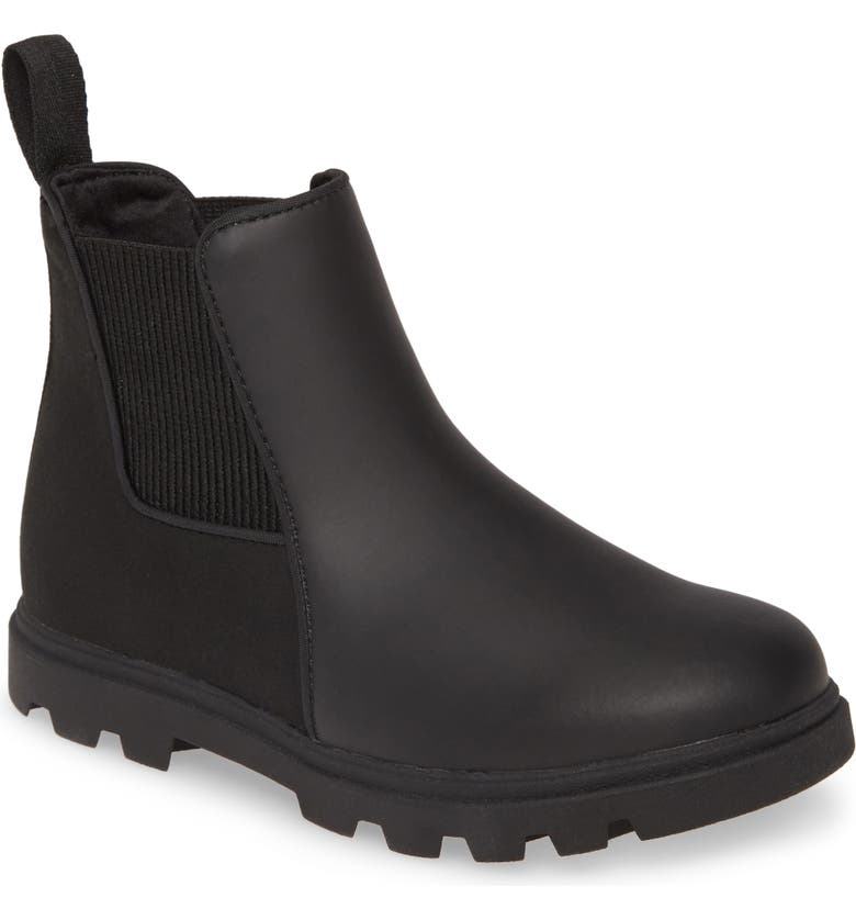 NATIVE SHOES Kensington Treklite Chelsea Boot, Main, color, JIFFY BLACK