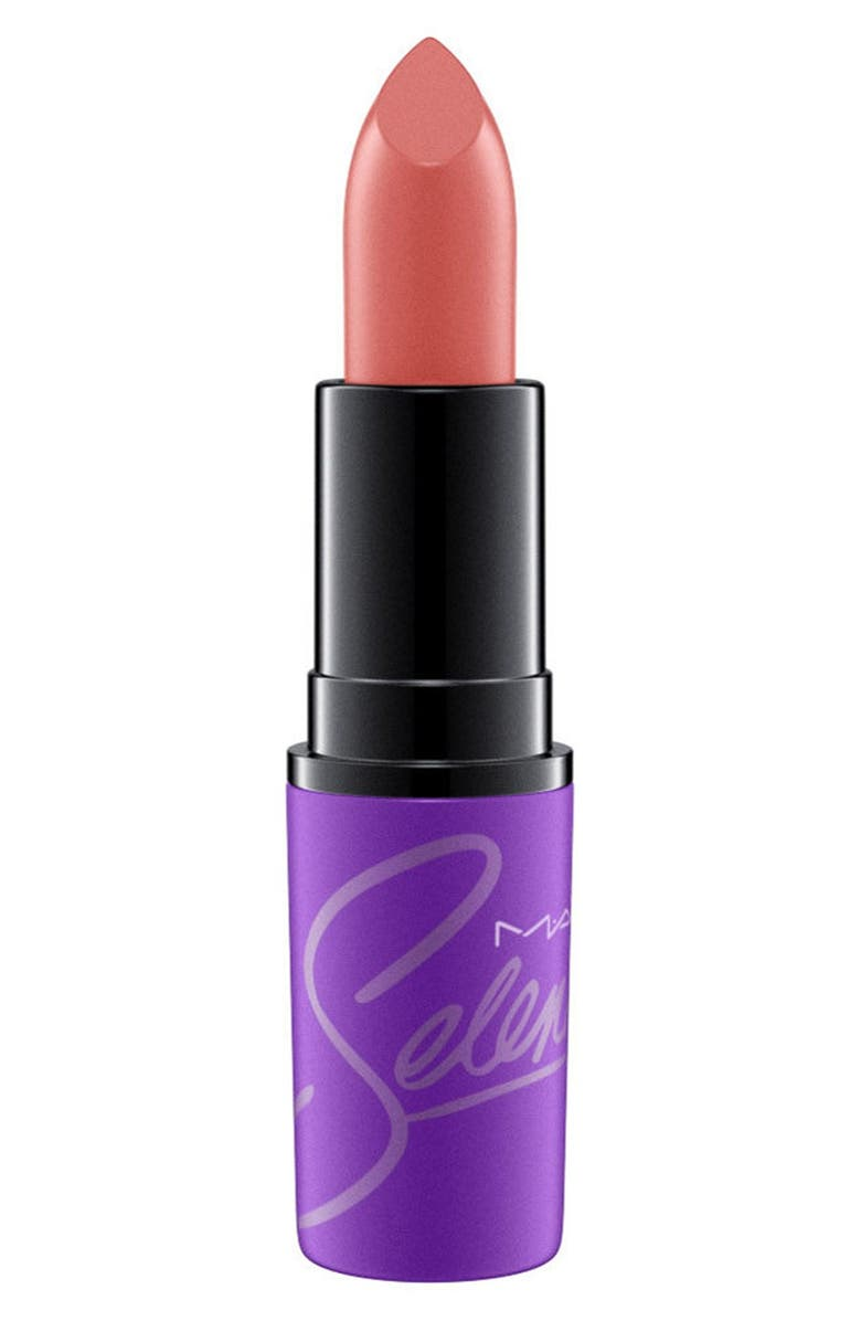 MAC COSMETICS MAC Selena Lipstick, Main, color, 200