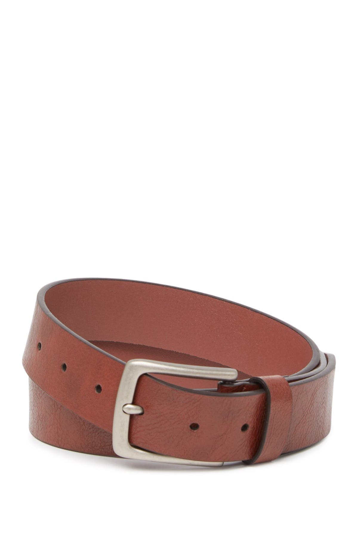 Original Penguin Slim Leather Belt