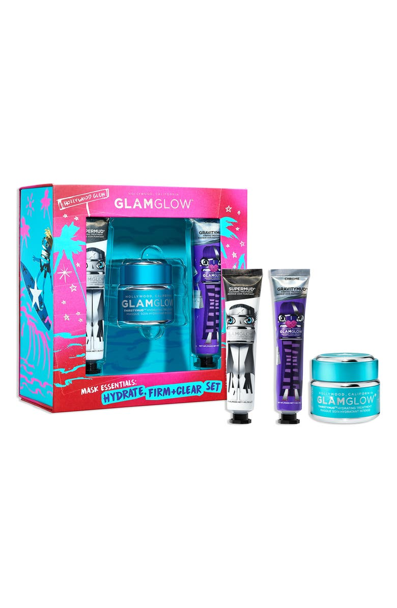 GLAMGLOW<SUP>®</SUP> Mask Essentials: Hydrate, Firm + Clear Set, Main, color, NO COLOR