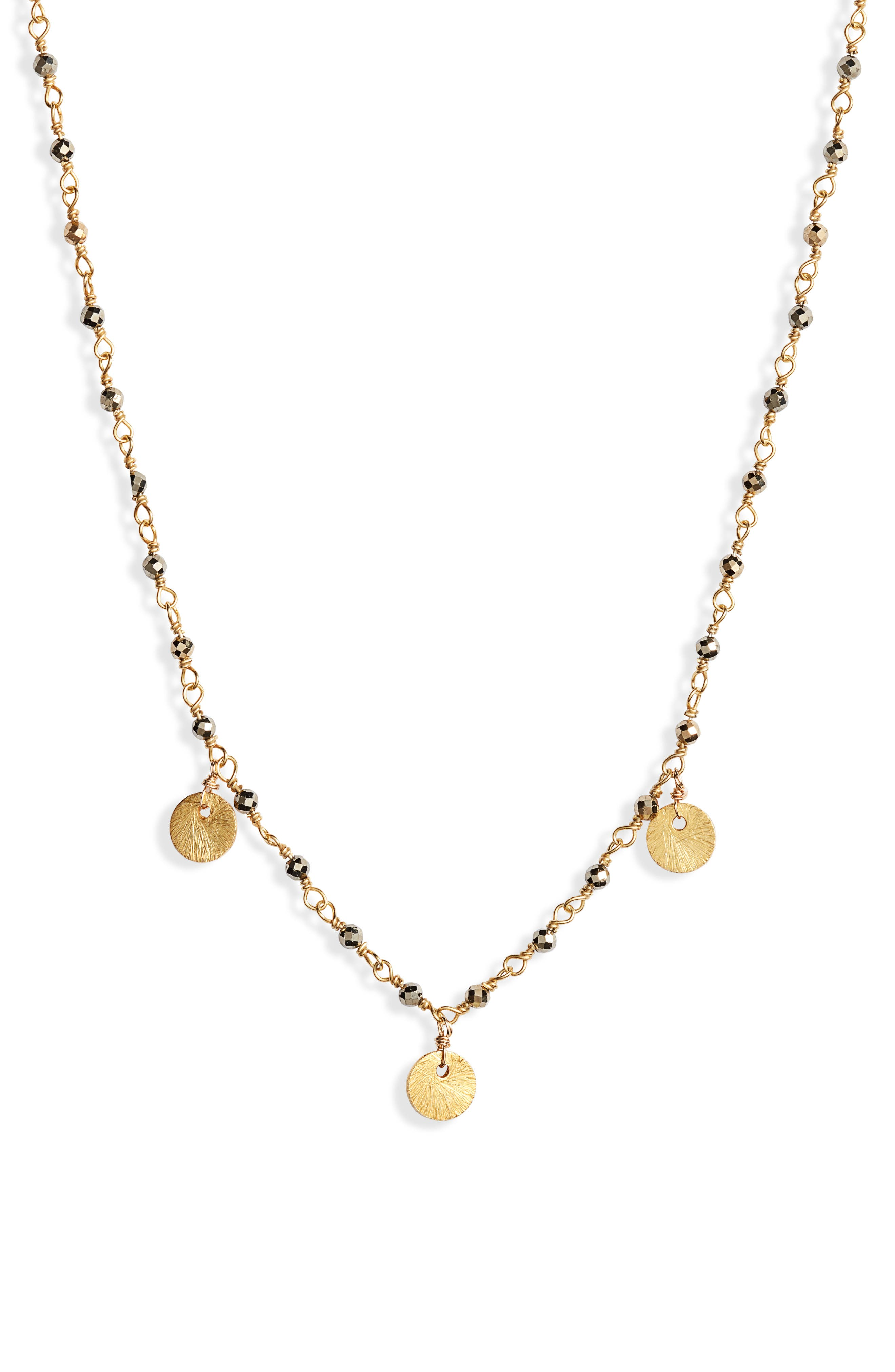Beaded Frontal Necklace