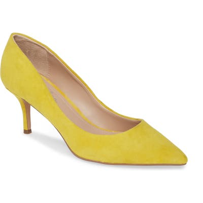 Charles By Charles David Addie Pump, Yellow