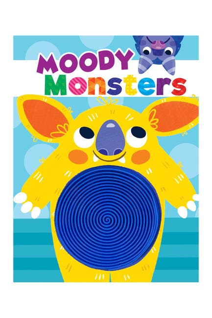 Image of LITTLE HIPPO BOOKS Moody Monsters