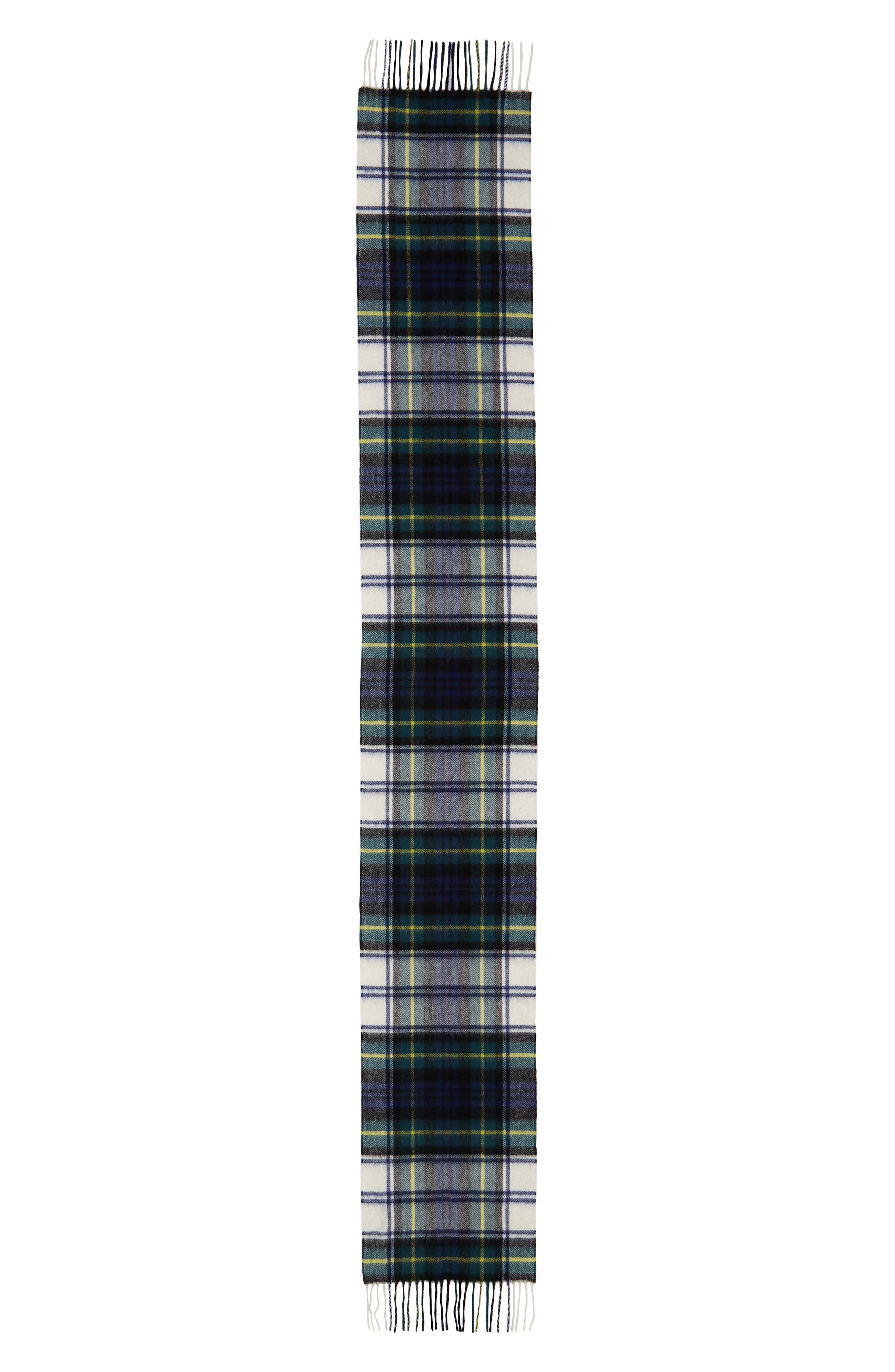 ,                             New Check Lambswool & Cashmere Scarf,                             Alternate thumbnail 2, color,                             400