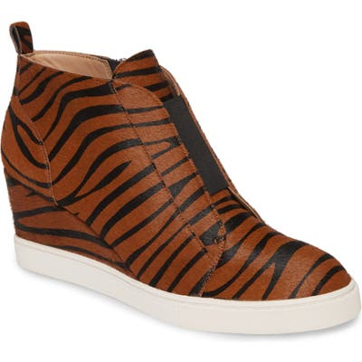 Linea Paolo Felicia Iii Wedge Sneaker, Brown