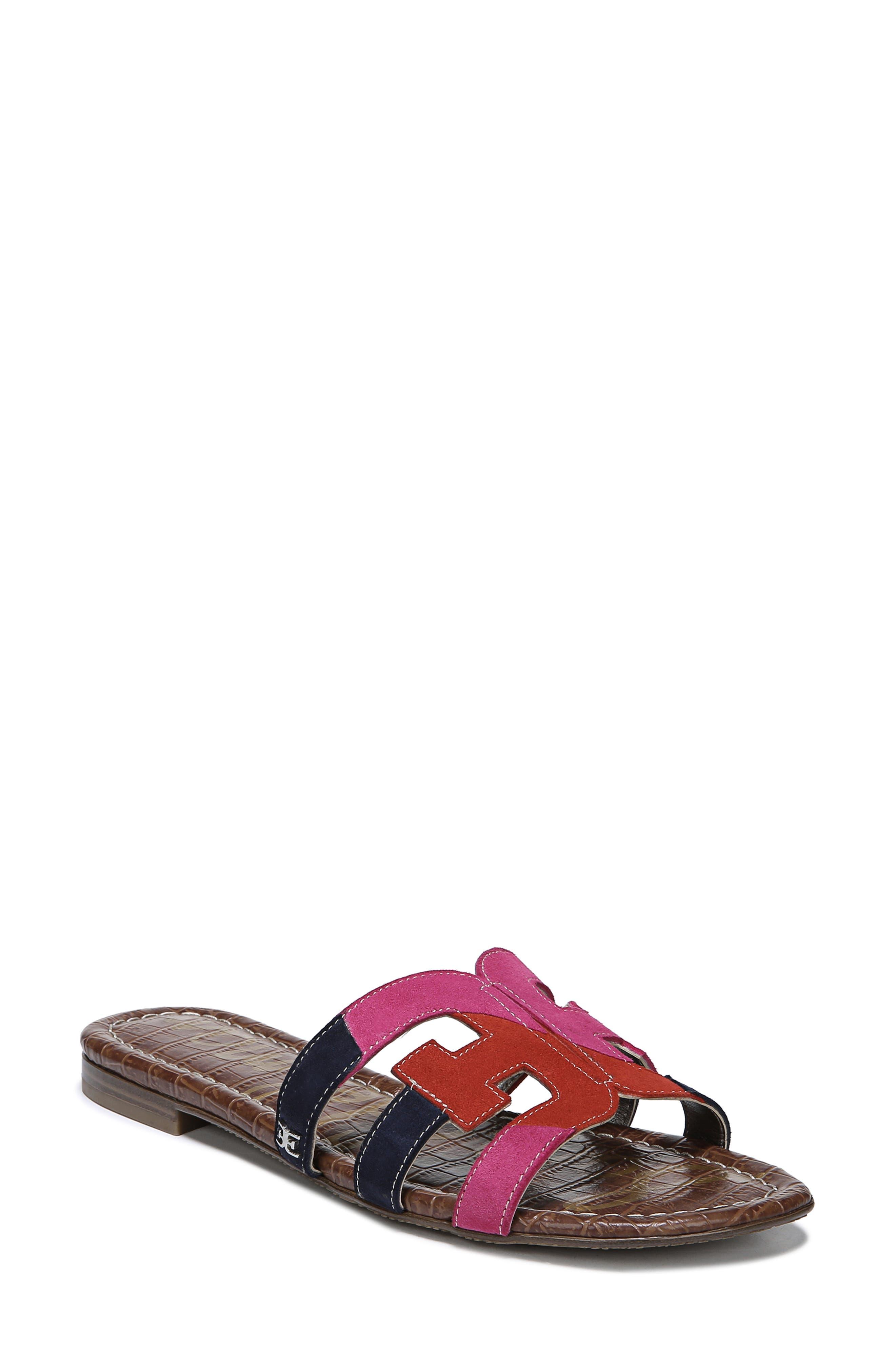 Sam Edelman Bay Cutout Slide Sandal- Pink