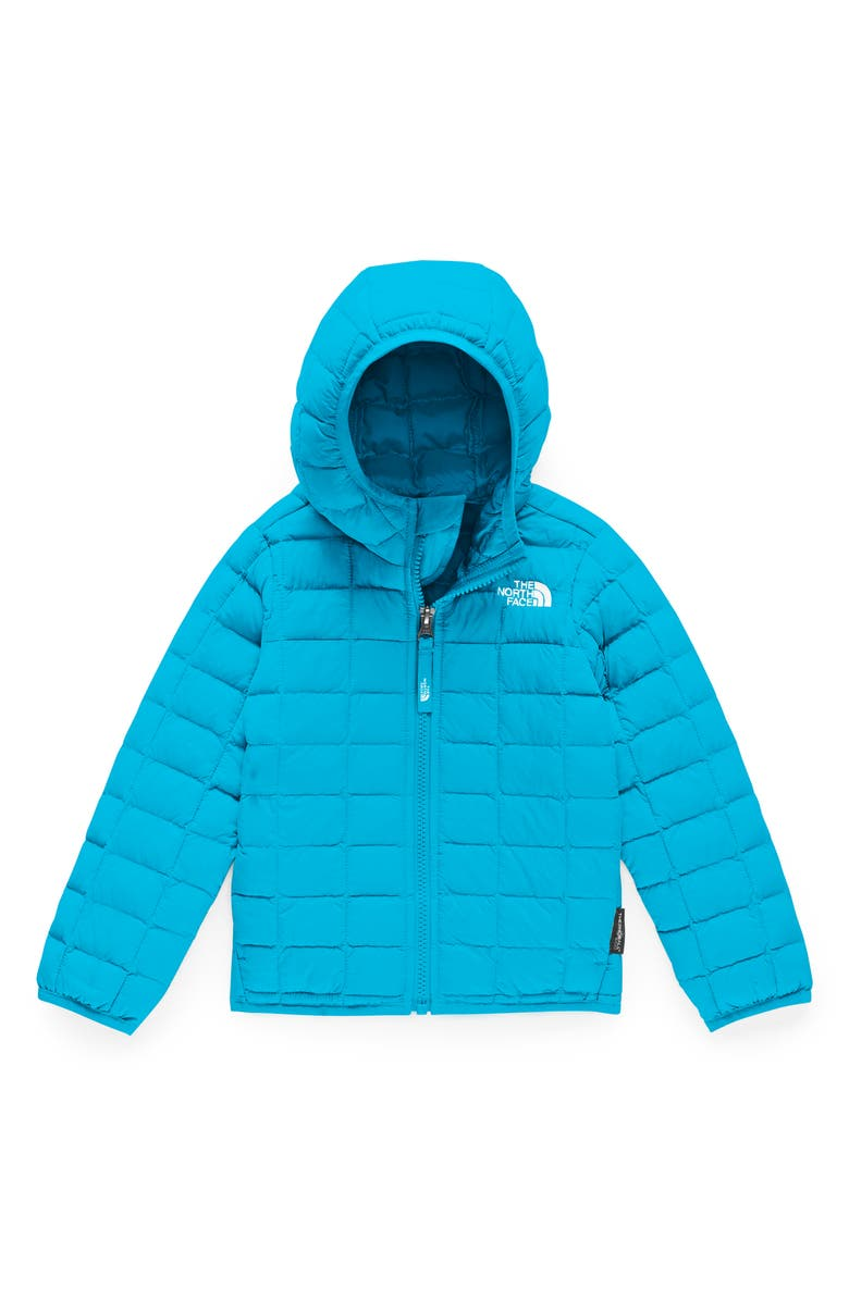 THE NORTH FACE ThermoBall<sup>™</sup> Eco Hooded Jacket, Main, color, TURQUOISE BLUE