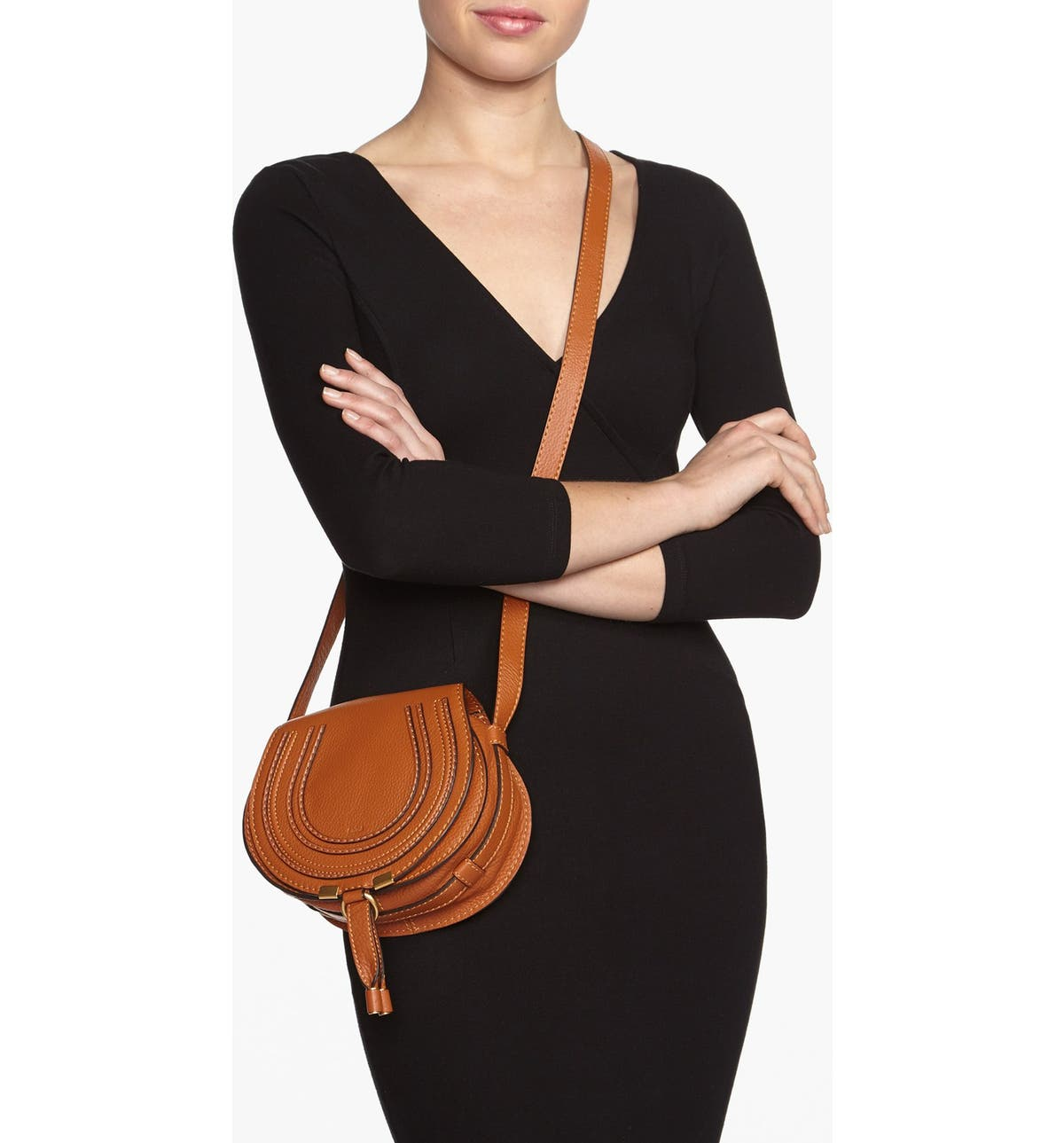 0d74c2b4 'Mini Marcie' Leather Crossbody Bag