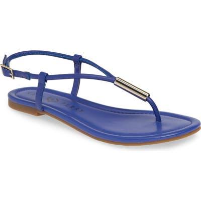 Katy Perry Jule Flat Sandal- Blue