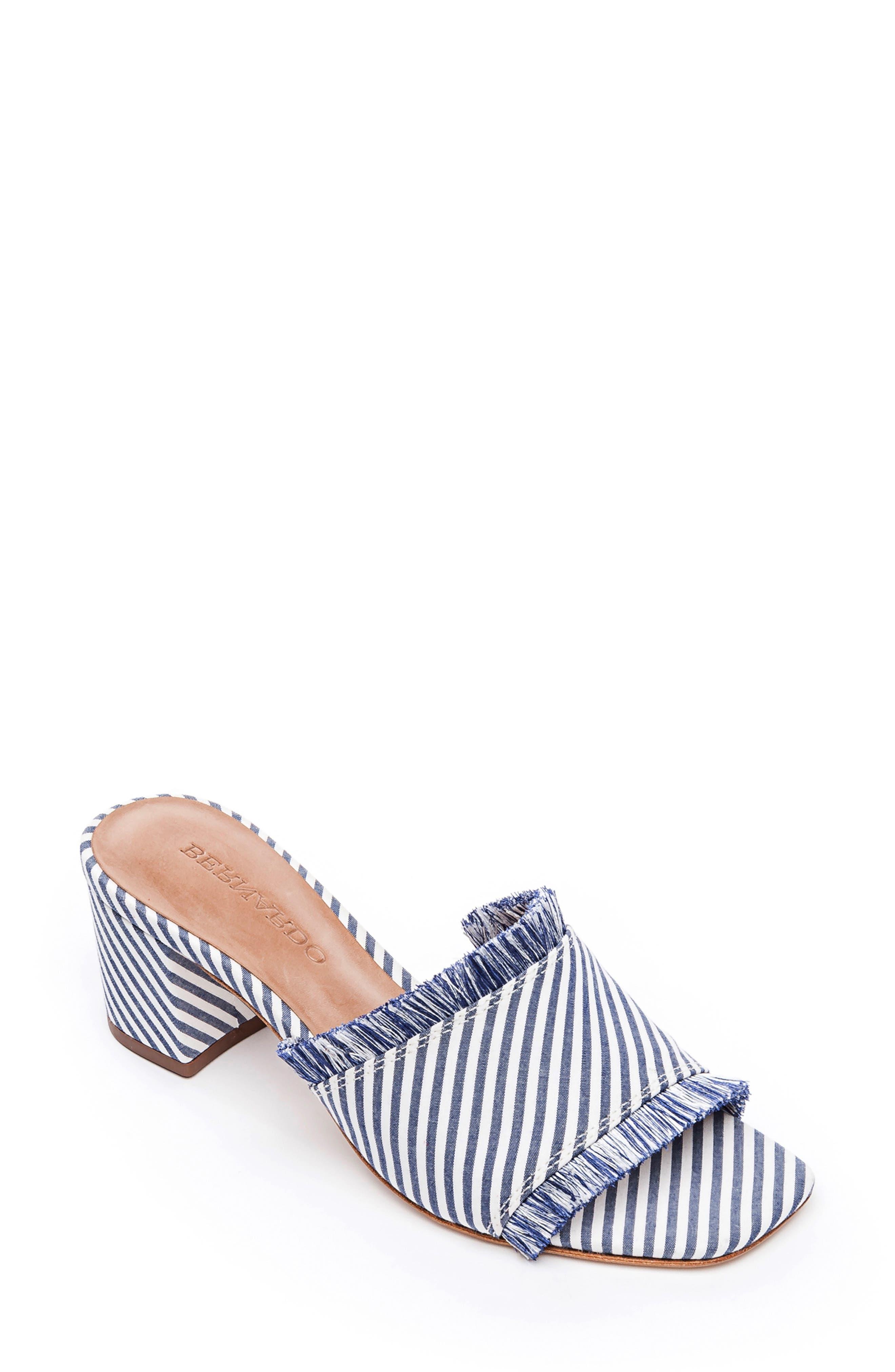 Bernardo Bryn Slide Sandal, Blue