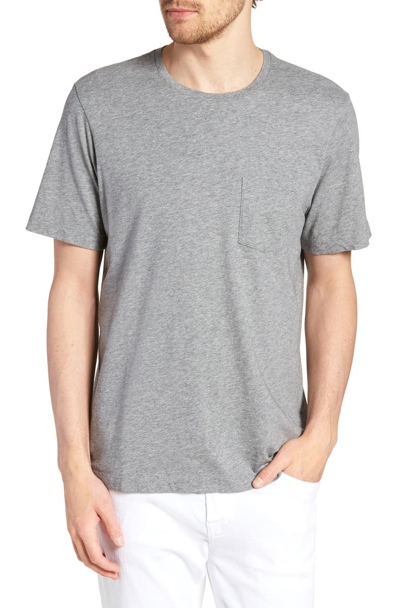 1901 Brushed Pima Cotton T-Shirt, Main, color, 030