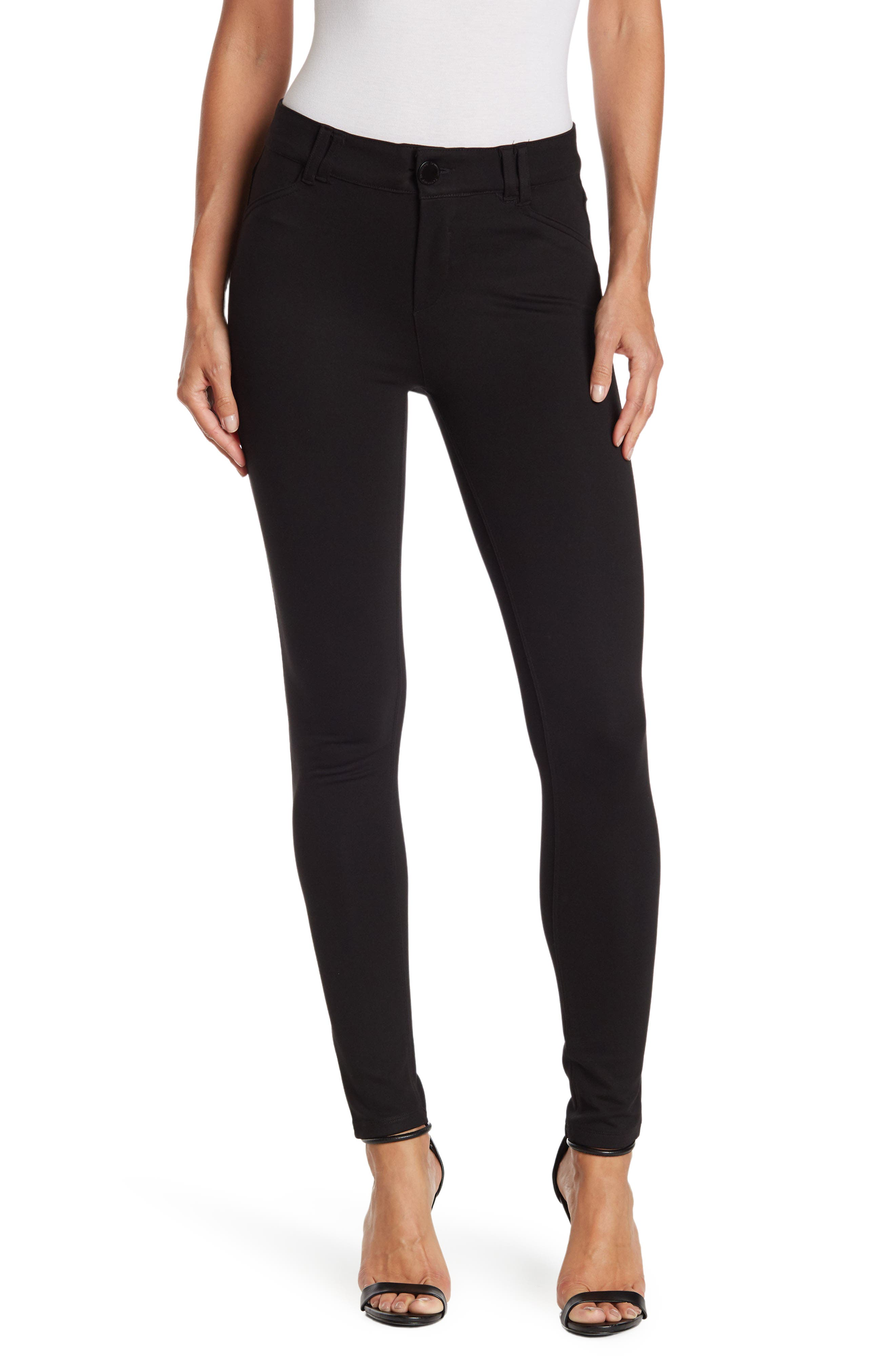 Image of Democracy Ab Technology Mid Rise Ponte Pants