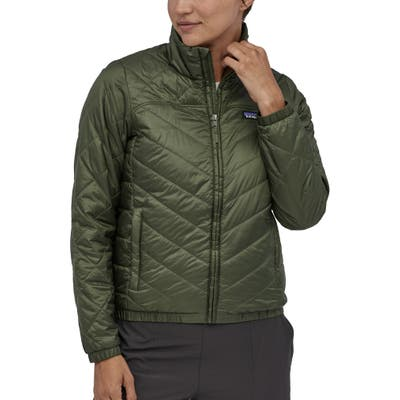 Patagonia Radalie Water Repellent Thermogreen Insulated Jacket, Green