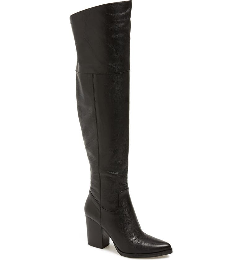 MARC FISHER LTD 'Alana' Over the Knee Boot, Main, color, 001
